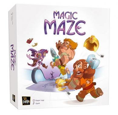 Magic Maze, društvena igra, party, zabavna, igra godine, beograd, board game