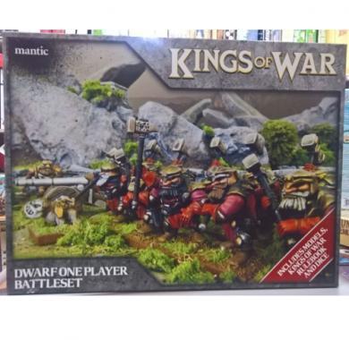 Kings of War - Dwarf One Player Battleset, minijature, ratna igra, strategija