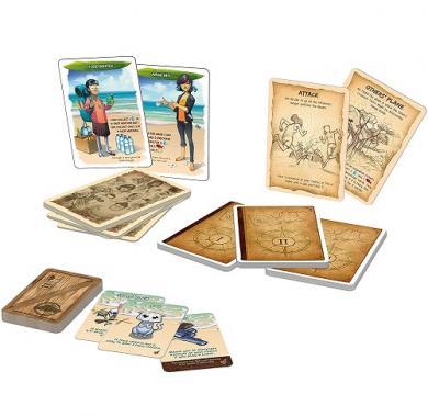 Edukativna igra Hellapagos tribes and characters, gigamic, karte
