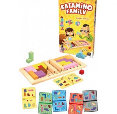 Drustvena igra Katamino Family, gigamic, sadrzaj kutije