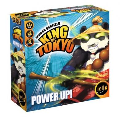 King of Tokyo Power Up, new edition, board game, party game, family game, king of hill