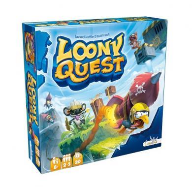 Društvena Loony Quest, porodične igre, društvene igre, zabavne igre, igre na tabli