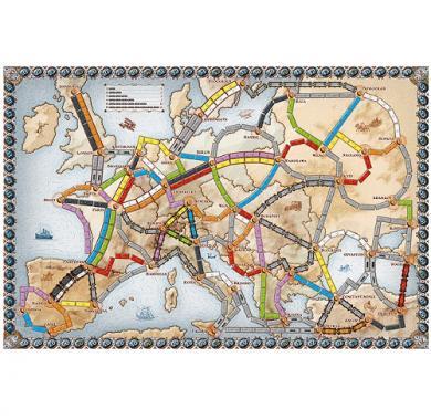 Drustvena igra Ticket to Ride Europe, Drustvene igre, Beograd, zabava