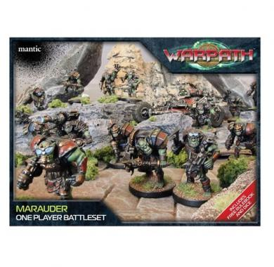 Warpath - Marauder One Player Battle Set, minijature, ratna igra, strategija, beograd