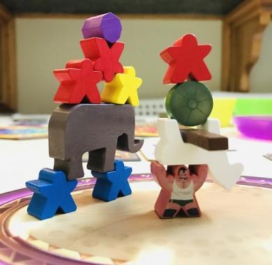 Meeple Circus, Drustvena igra, porodicna igra, igra za poklon, zabava, poklon, beograd, srbija, online prodaja drustvenih igara