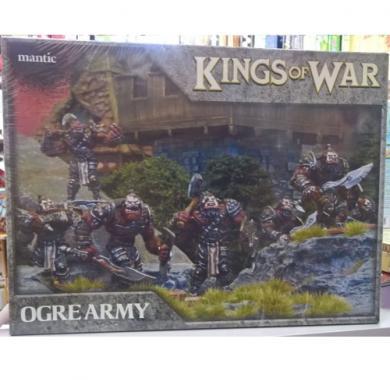 Kings of War - Ogre Army, minijature, strategija, ratna igra, board game