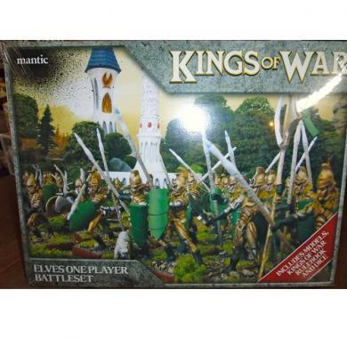 Kings of War - Elf One Player Battleset, minijature, ratne igre, strategija