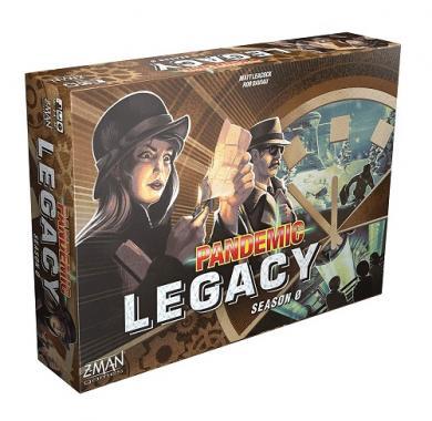 Društvena igra Pandemic Legacy Season Zero kutija