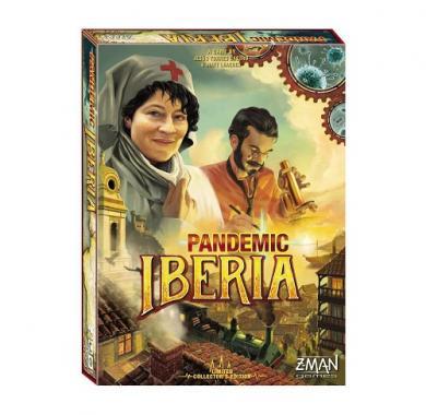 Pandemic Iberia, društvena igra, co-op, board game, pandemic