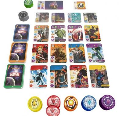 Društvena igra Splendor Marvel sadržaj