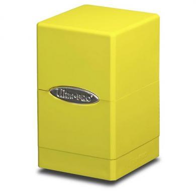 Ultra Pro Satin Tower Deck Box Žuta, kutija, yugioh, magic, mtg, prodaja, beograd, tcg