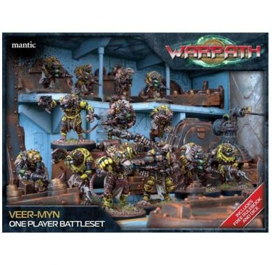 Veer-myn One Player Battleset, minijature, ratna igra, strategija, board game