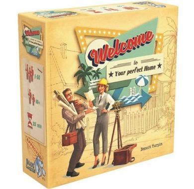 Društvena igra Welcome to... kutija igre